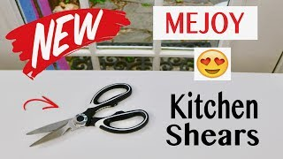 😍 MEJOY ❤️ Stainless Steel Kitchen Shears - Review ✅