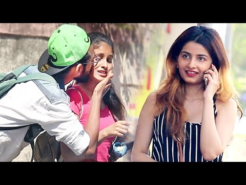 Xxx Mp4 Kiss And Run Prank Kissing Prank In India Street Swaggers 3gp Sex