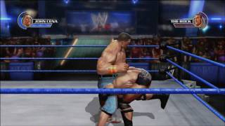 John Cena vs The Rock - WWE All Stars (New Video Game) Gameplay