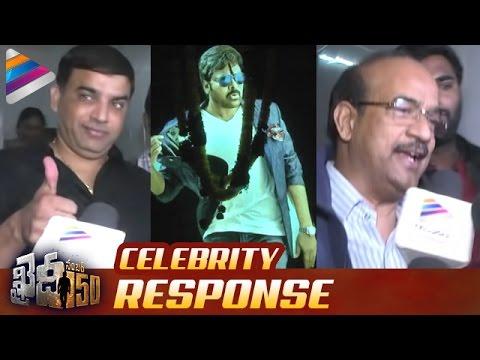 Khaidi No 150 Benefit Show Celebrity