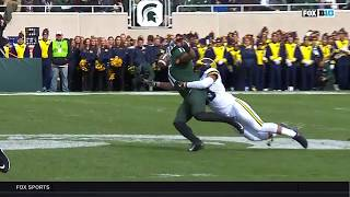 Connor Heyward's Amazing Catch vs. Michigan | Big Ten Football