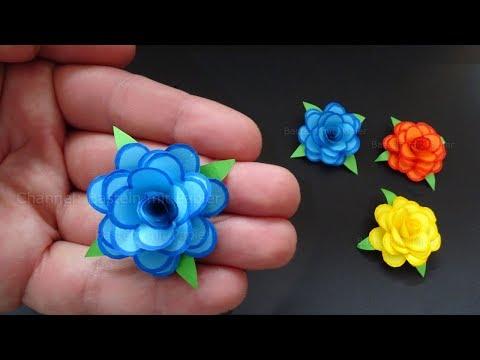 Xxx Mp4 Rosen Basteln Mit Papier Kleine Blumen Als DIY Deko Geschenk 🌹 Origami Bastelideen 3gp Sex