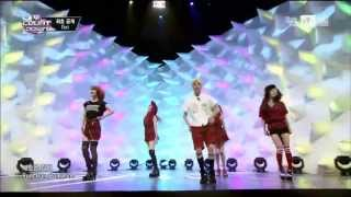 f(x) Comeback Stage M Countdown (7/25/2013) [CC: ENG SUBS]