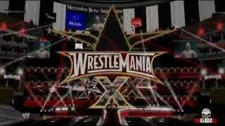 WWE Stage Brock Lesnar - Wrestlemania XXX
