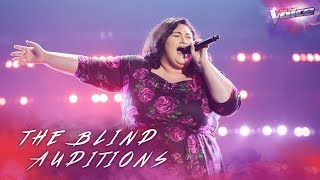 Chrislyn Hamilton sings (You Make Me Feel Like) A Natural Woman | The Voice Australia 2018