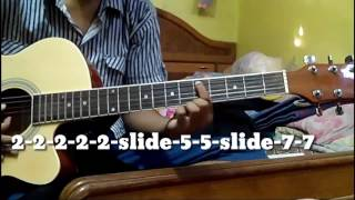 Intro |Milne Hai Mujhse Aayi | Guitar Tutorial | Easy Version