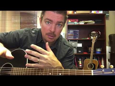 Three Wooden Crosses | Randy Travis | Beginner Guitar Lesson ...