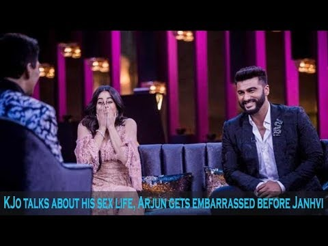 Xxx Mp4 Arjun Kapoor Feels Embarrassed As Karan Johar Talks About His Sex Life Before Janhvi Kapoor 3gp Sex