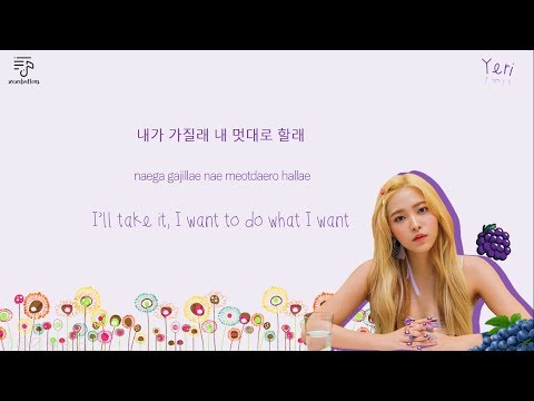 RED VELVET 레드벨벳 - Red Flavor 빨간맛 Color-Coded-Lyrics Han l Rom l Eng 가사 by xoxobuttons