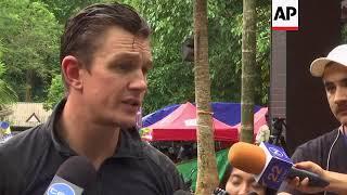 Australian diver comments on Thai cave rescue operation