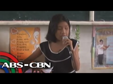 Blind girl behind viral 'Wrecking Ball' video sings on 'GGV'