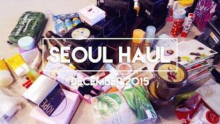 [ Seoul Haul ] Korean Cosmetics, Stationery, and Kpop ● ◡ ●