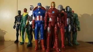 CAPITAN AMERICA CIVIL WAR - titan hero - coleccion de marvel - figuras de accion