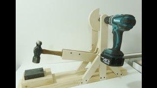 Make a Leonardo da Vinci cam hammer