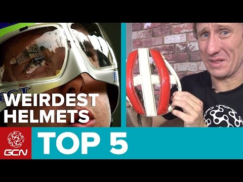 Top 5 Weirdest Cycle Helmets Of All Time