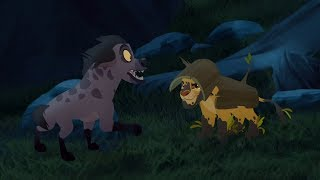 Lion Guard: The Guard's Camouflage | Undercover Kinyonga HD Clip