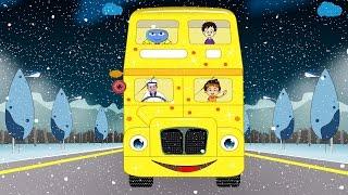 The Wheels On The Bus - Children Nursery Rhymes I Baby Kid Songs I Kindergarten Kids Baby Rhyme Song