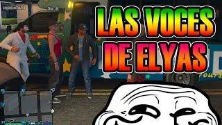 GTA V ONLINE | LAS VOCES DE ELYAS XD | SOFY, ÁNGEL Y ELYAS | Josemi
