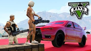 GTA V Online: MINIGUN vs LANCER BLINDADO - INCRÍVEL!!!