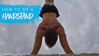 How To Do A Handstand (FREE ROUTINE)