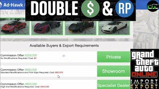 GTA 5 Import/Export Double $ (Selling Vehicle Cargo $620,000 every Hour and 30 Min) (Solo $155,000)