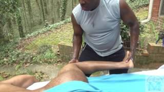 Atlanta Athletic outdoor massage part 3