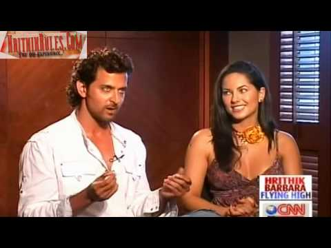 Hrithik Barbara Flying High InterView With Rajeev Masand Part 1
