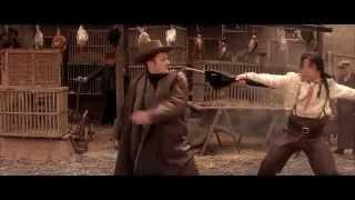 Shanghai Knights Market Fight Scene (HD & Sub)