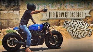Cafe Racer (Harley Davidson Street 750 by Rajputana Customs)