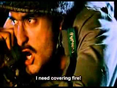 border movie bhairon singh MMG spring scene.flv