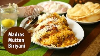 Madras Mutton Biriyani | Mrs K M Mathew