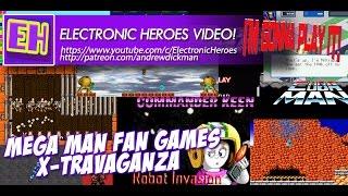 Mega Man Fan Game X-Travaganza - Electronic Heroes - I