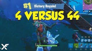 4 Versus 44 - Fortnite Madness