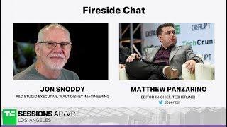 Fireside Chat with Jon Snoddy (Walt Disney Imagineering)   TC Sessions AR/VR 2018