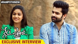 Nenu Sailaja Movie Exclusive Interview   Ram   Keerthi Suresh   Sathyaraj   Devi Sri Prasad