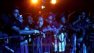 The growling rap in Bangla! - Gandu Circus Live at Ziro