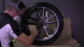 Obsidian Black Plasti Dip Wheels