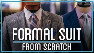 How to Make a Formal Suit from Hemp, Cotton, Alpaca, Silk, & Wool | HTME: Remix