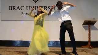 Brac University(Rs#39)....Dance performance...
