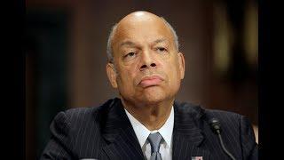 Former DHS secretary Jeh Johnson testifies before House Intel Committee
