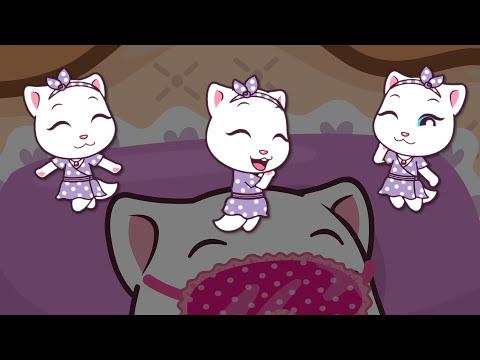 Talking Tom and Friends Minis - Episodes 1-4 Binge Compilation