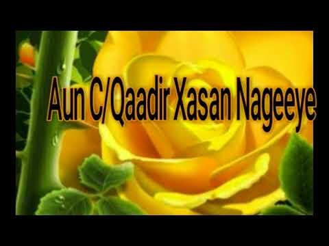 Xxx Mp4 Aun C Qaadir Xasan Nageeye Heesta Sida Laba Walaalaa With Lyrics 3gp Sex