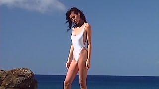 Aya Sugimoto 杉本彩 1 - White Bathingsuit