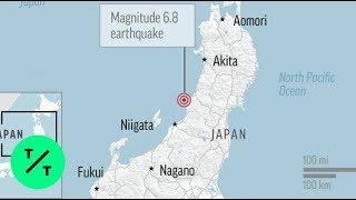 Tsunami Warning In Effect After Powerful Earthquake Jolts Japan