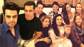 Salman Khan's EID Party 2017 At His House Galaxy Apartments In Bandra