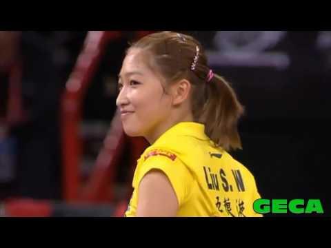 Tribute to Liu Shiwen Queen of amazing rallies 刘诗雯
