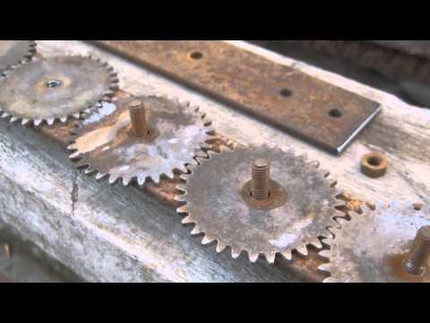 Шестеренки для мангала своими руками