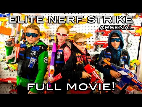 Elite Nerf Strike Arsenal Full Movie Nerf War