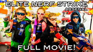 Elite Nerf Strike: Arsenal | Full Movie! (Nerf War)