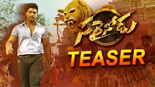 Sarrainodu Official Teaser || Allu Arjun , Rakul Preet , Boyapati Sreenu || Sarainodu